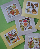 FATHER'S DAY CARDS Cross Stitch Charts
