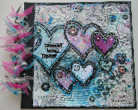 VALENTINE ~ OOAK Handmade Altered Items