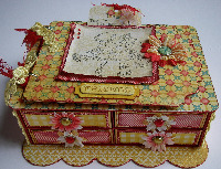 FRIENDSHIP ~ OOAK Handmade Boxes