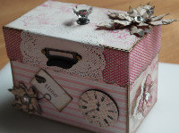 RECIPE ~ OOAK Handmade Boxes