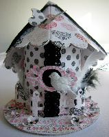 BIRD HOUSE BOX ~ OOAK Handmade Boxes