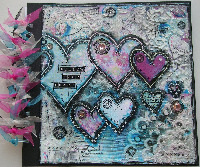 MIXED MEDIA ~ OOAK Handmade Scrapbook Albums