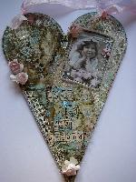 OOAK Handmade VALENTINE Door Hangers/Wall Hangings