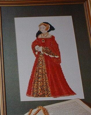 Henry VIII Wife: Jane Seymour ~ Cross Stitch Chart