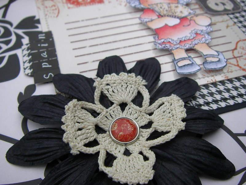 *spain* black flower