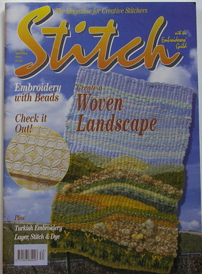STITCH No 34 April/May 2005 Embroiderers' Guild Magazine