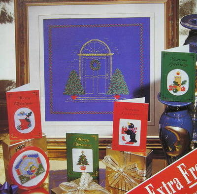 Christmas Cards & Alpine Holiday Decorations ~ Cross Stitch Charts