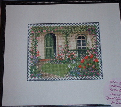 Blooming Summer Garden ~ Cross Stitch Chart