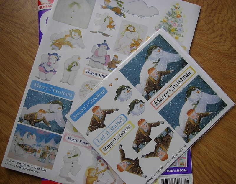 The Snowman Stickers