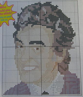 David Dickinson: TV Celebrity ~ Cross Stitch Chart
