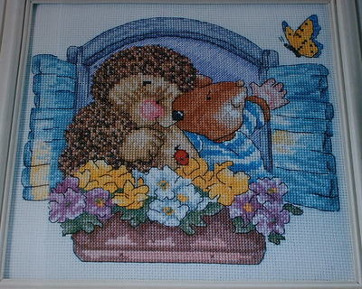 Country Companions: Let the Sunshine In ~ Cross Stitch Chart