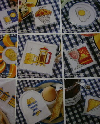 36 Quick & Easy Breakfast Cross Stitch Charts