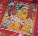 Teddy Bears Picnic ~ Cross Stitch Chart