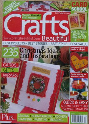 Crafts Beautiful Vol 11 Issue 04 December 2003 ~ Papercrafting Magazine