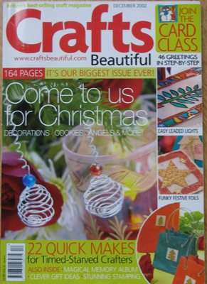 Crafts Beautiful Vol 10 Issue 4 December 2002 ~ Craft Magazine
