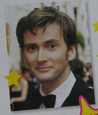 David Tennant: Doctor Who Actor ~ Cross Stitch Chart