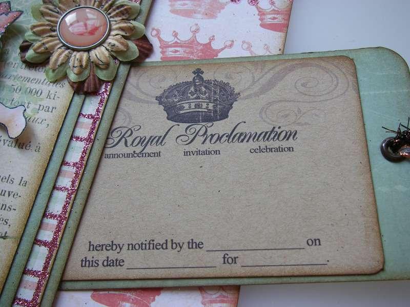 royal proclamation tag