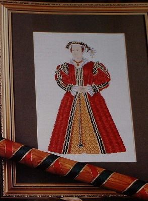 Henry VIII's Wife: Katharine Parr ~ Cross Stitch Chart