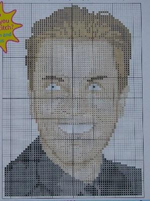 Celebrity: Ewan McGregor ~ Scottish Actor - Cross Stitch Chart