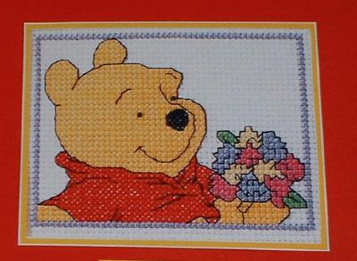 Winnie the Pooh ~ Cross Stitch Chart