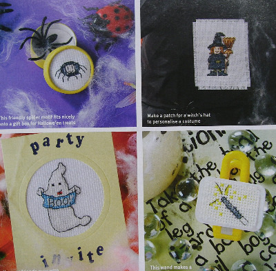 38 Halloween Motifs ~ Cross Stitch Charts