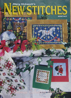 New Stitches Christmas Collection Iss 18 Sept 1994 Cross Stitch Charts