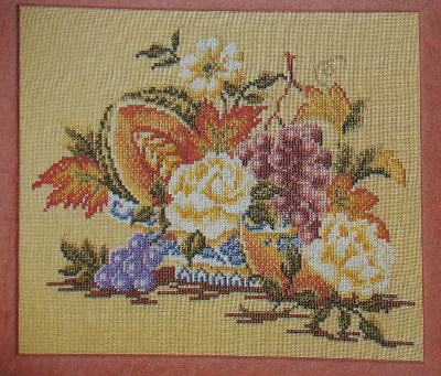 Autumn Fruit & Flowers ~ Cross Stitch Chart