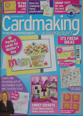Card Making & Papercraft ~ Issue 63 ~ March 2009