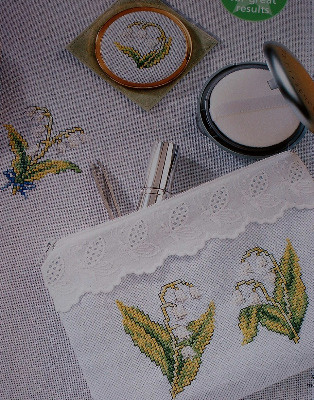 Lily of the Valley ~ Cross Stitch Charts