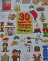 20 Christmas Card Motif Designs ~ Cross Stitch Charts