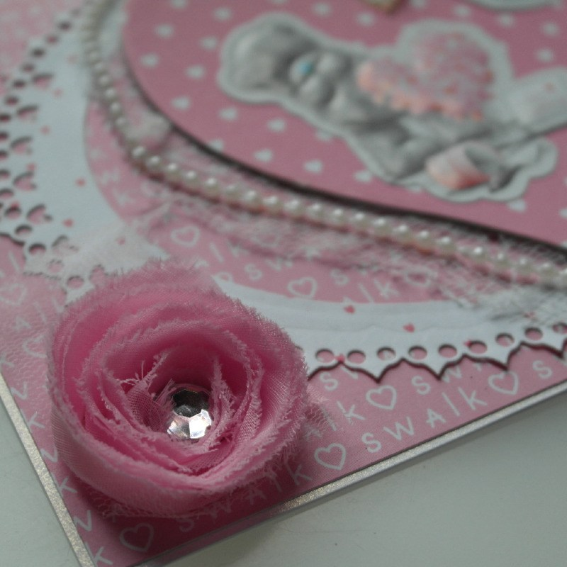 swalk tatty teddy card flower