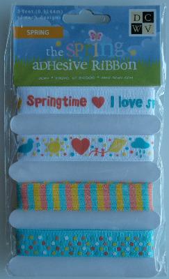 DCWV: Spring Adhesive Ribbon ~ Spring