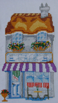 Village Cafe ~ Cross Stitch Chart