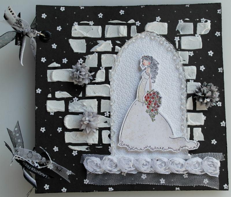 bride in church doorway full