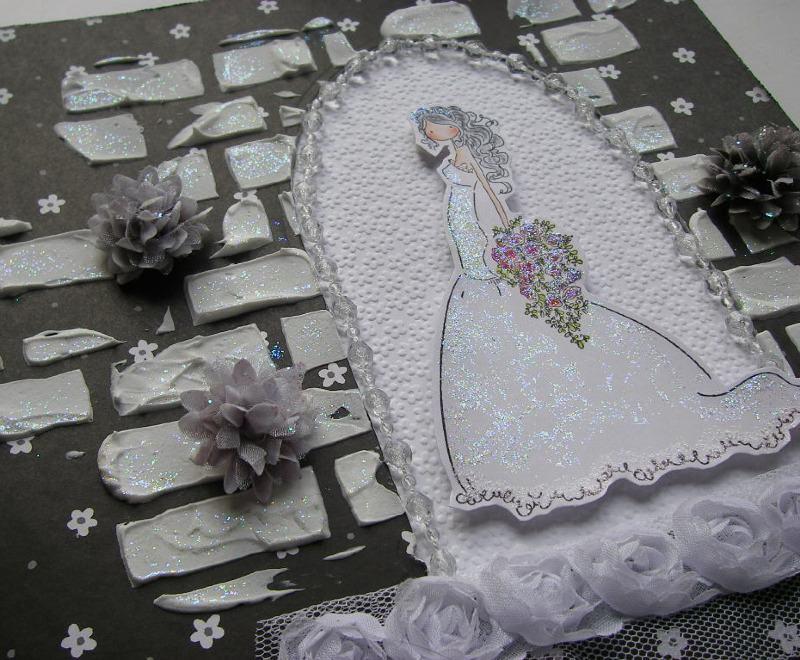 bride in church doorway left slide