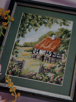 A Cottage in the Woods ~ Cross Stitch Chart
