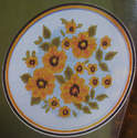 Black-Eyed Susan Flowers ~ Cross Stitch Chart