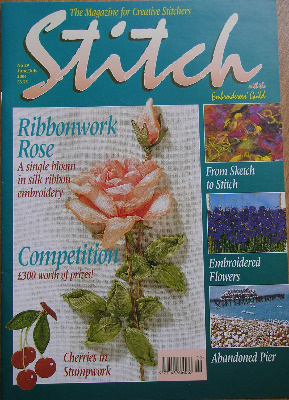 STITCH No 29 June/July 2004 Embroiderers' Guild Magazine