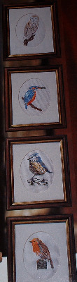 Four Birds ~ Cross Stitch Charts