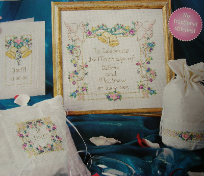 Wedding Sampler & Gift Set ~ Four Cross Stitch Charts