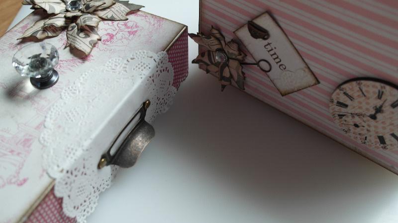 tea time box lid & base