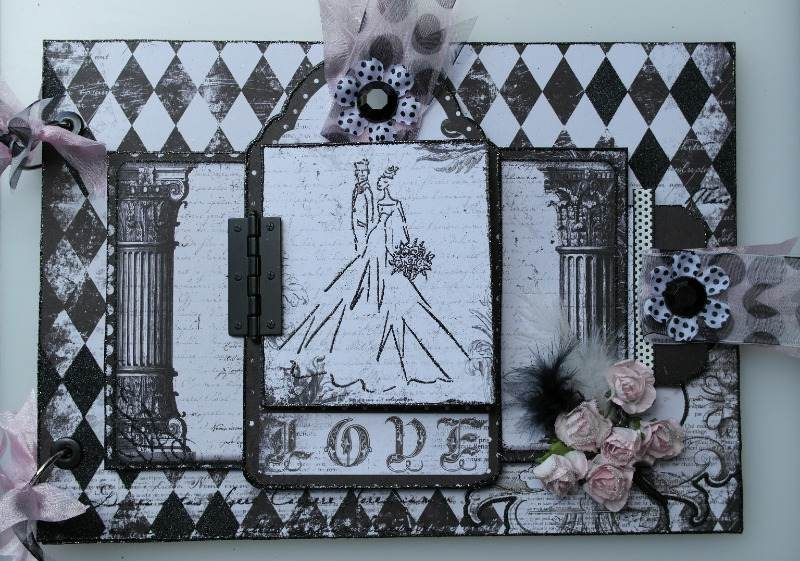 enchanted love wedding album full