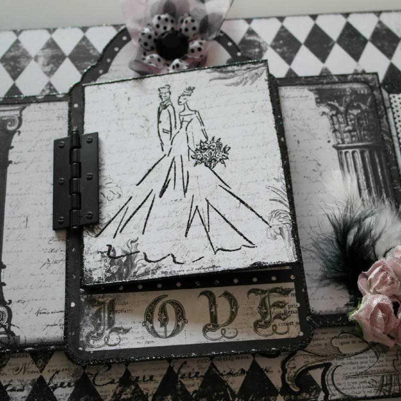 enchanted love wedding album image