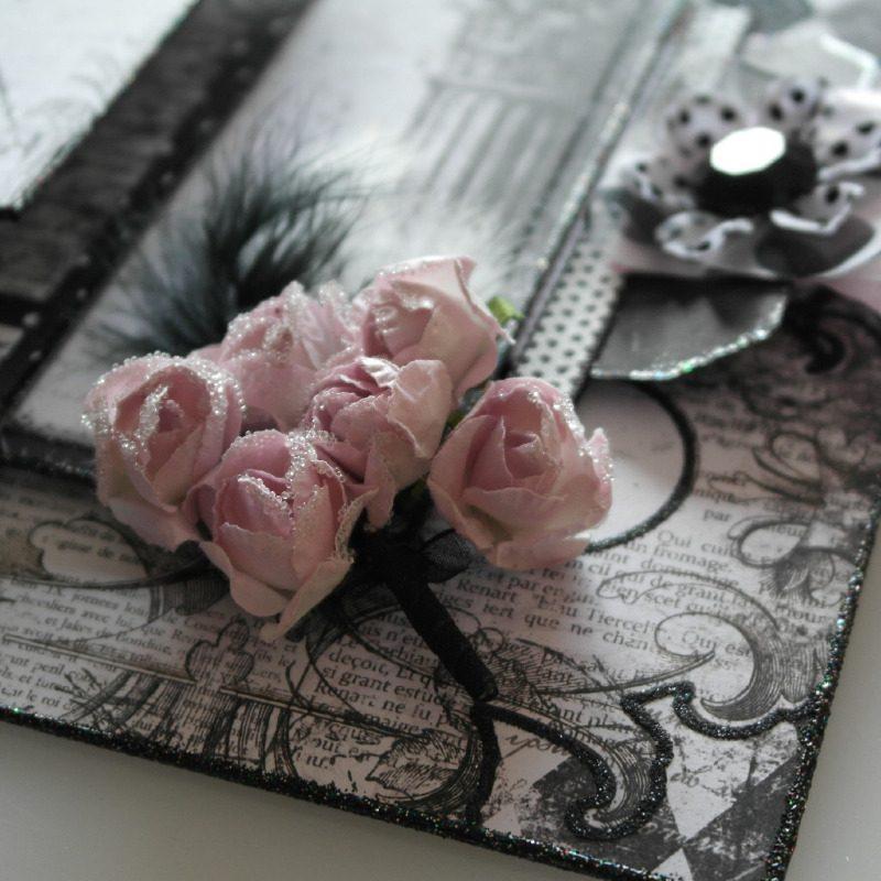 enchanted love wedding album flowers