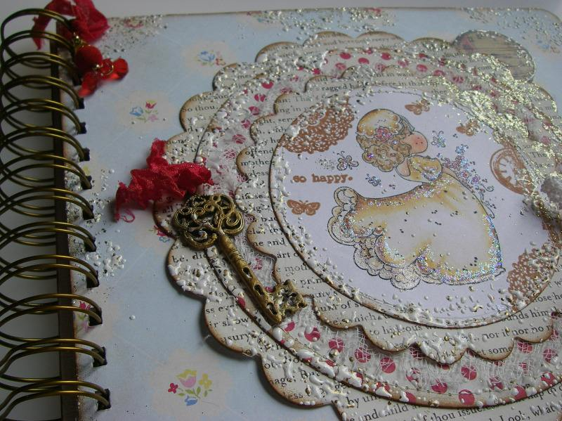 so happy wedding album spiral