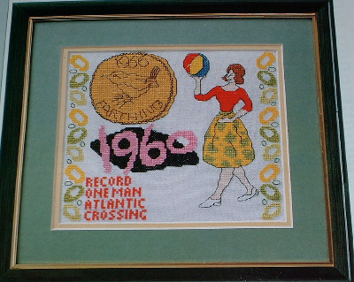 Nostalgic 1960's Sampler ~ Cross Stitch Chart