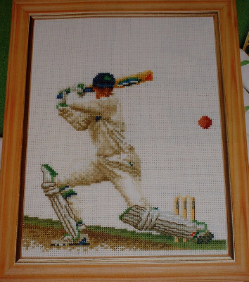 Thea Gouverneur: The Cricketer ~ Cross Stitch Chart