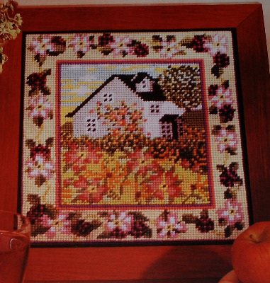Blackberry Cottage ~ Needlepoint Chart
