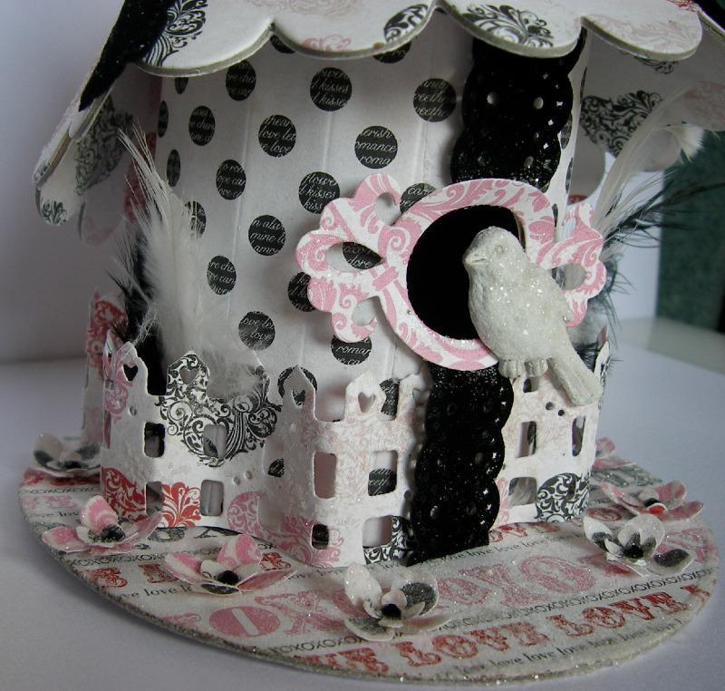 love bird birdhouse left side