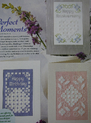 Hardanger Birthday, Anniversary & Other Cards ~ Three Patterns